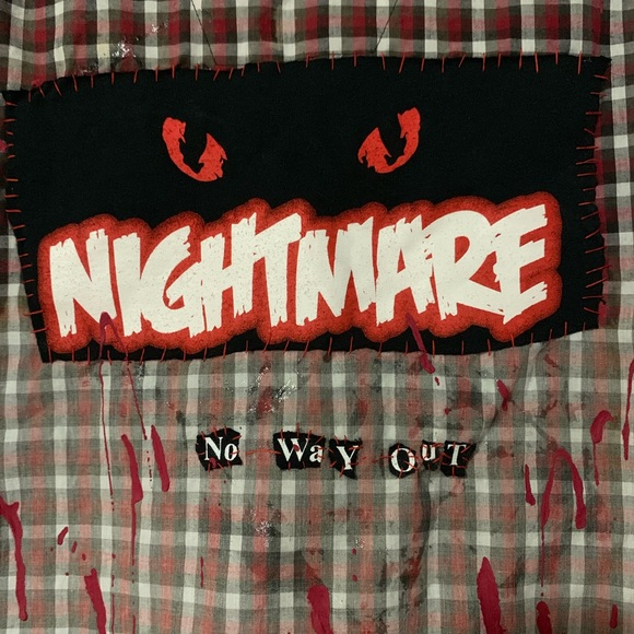 Hanes Other - Custom DIY Nightmare Flannel
